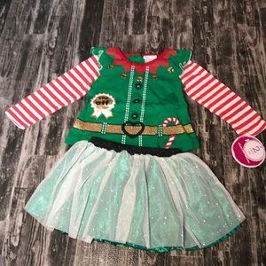 Nannette 2 pc Elf Outfit